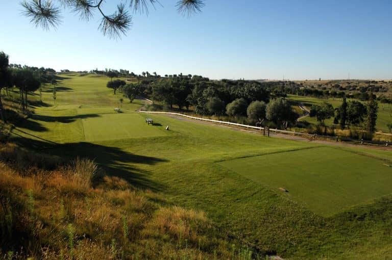 Golf Santander Madrid Espagne Jouer golf