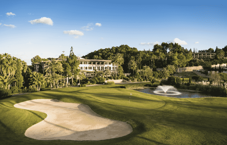 Golf Son Quint – Arabella Palma de Majorque, Espagne Club-house trou 18