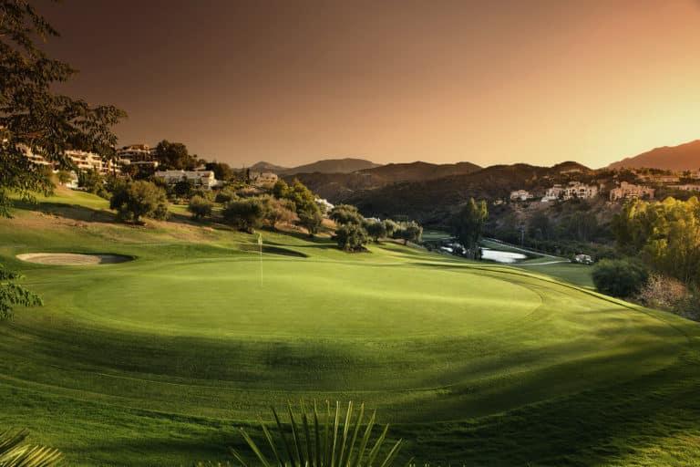La Quinta Golf and Country Club Marbella Green fairway bunker