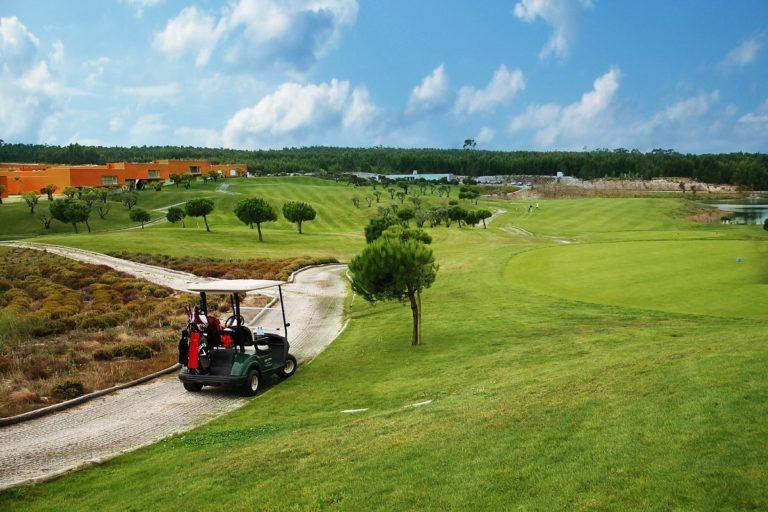 OBIDOS, LISBON Bom Sucesso Golf Course Golfette cart