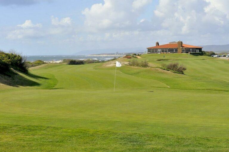 Oporto Golf Club Espinho-Costa Verde, Portugal Parcours de golf 18 trous Links