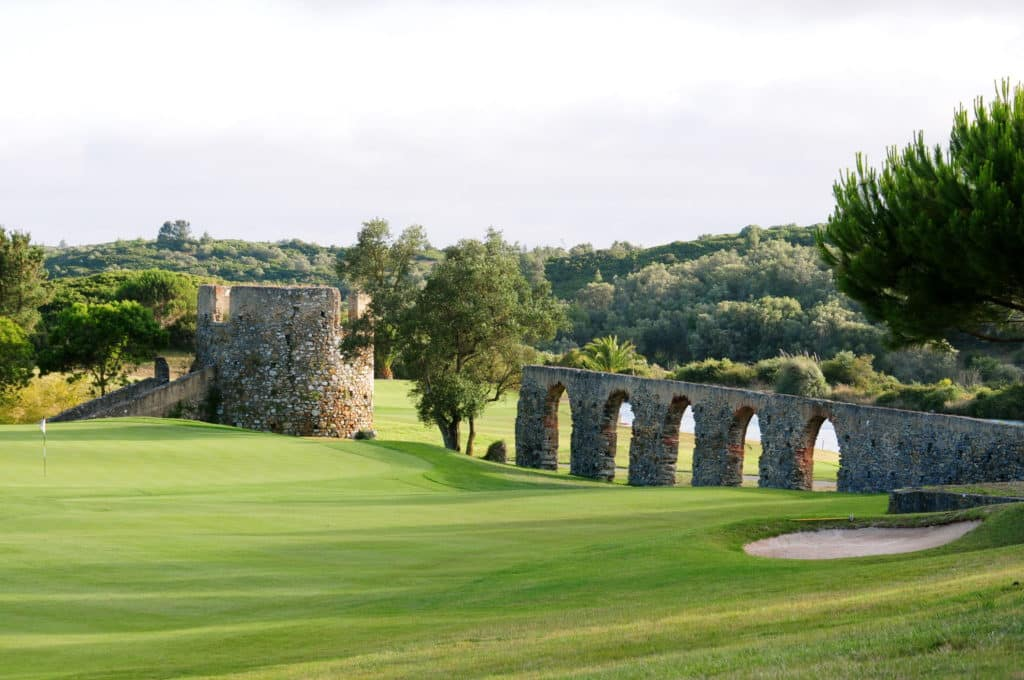 Penha Longa Golf Club Green fairway bunker