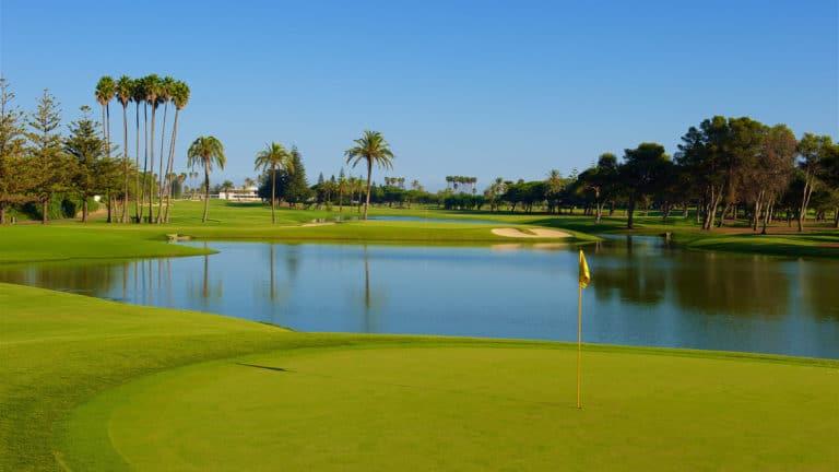 Real Club de Golf Sotogrande Parcours de golf 18 trous Espagne Andalousie