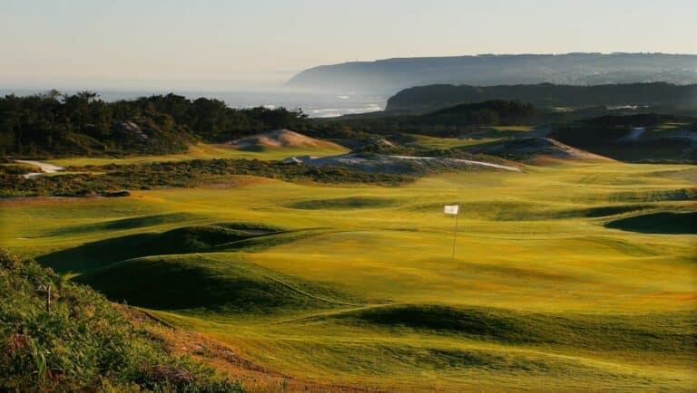 West Cliffs Golf Links Logo Parcours de golf Portugal
