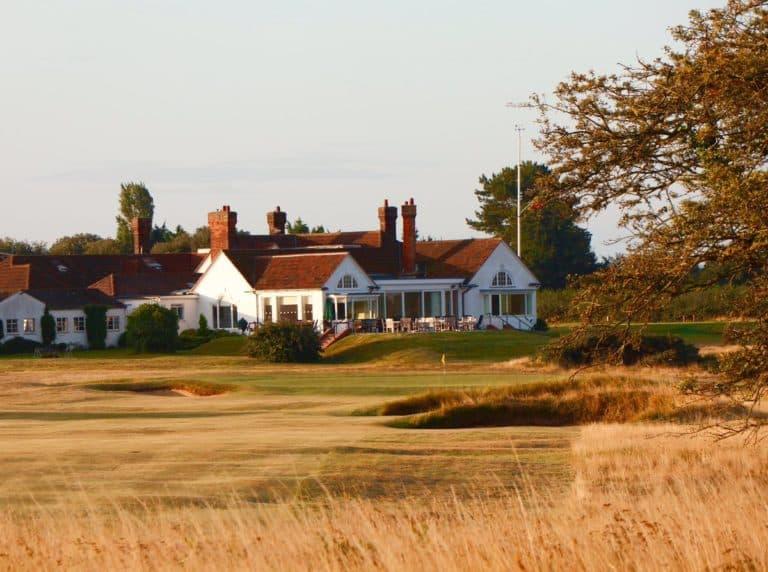 Aldeburgh Golf Club Club-House