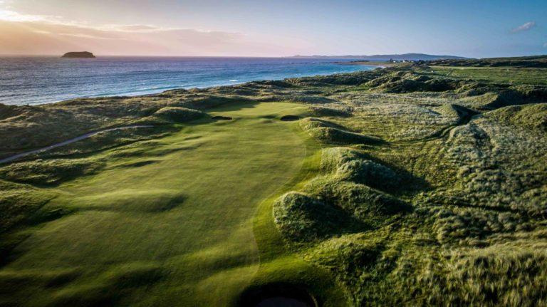 Ballyliffin Golf Club Links magnifique vue mer