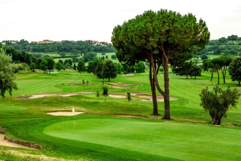 Castelgandolfo Golf Club jouer golf italie Rome