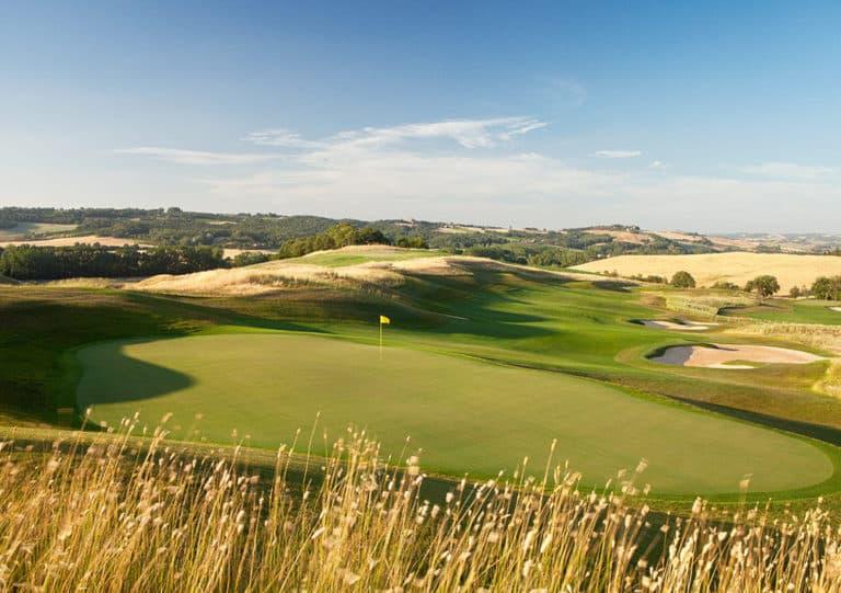 Castiglion Del Bosco Golf Club Links Italie
