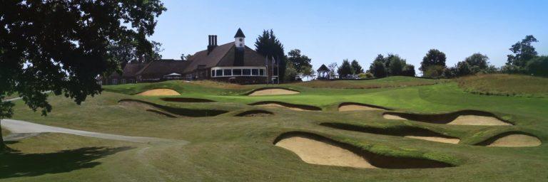 Chart Hills Golf Club Club-house trou 18