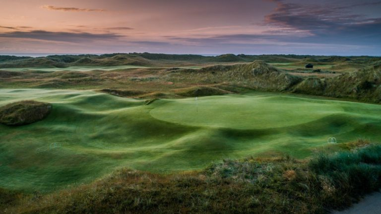 County Louth Golf Club Links Irlande parcours de golf