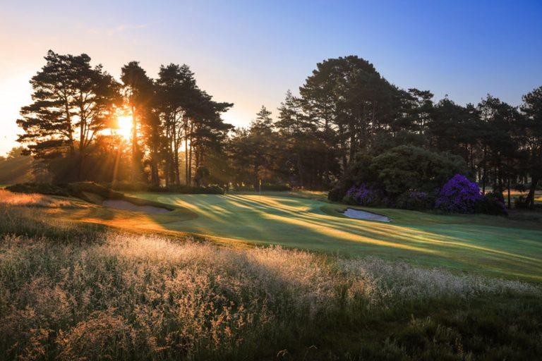 Ferndown Golf Club 18 trous Angleterre
