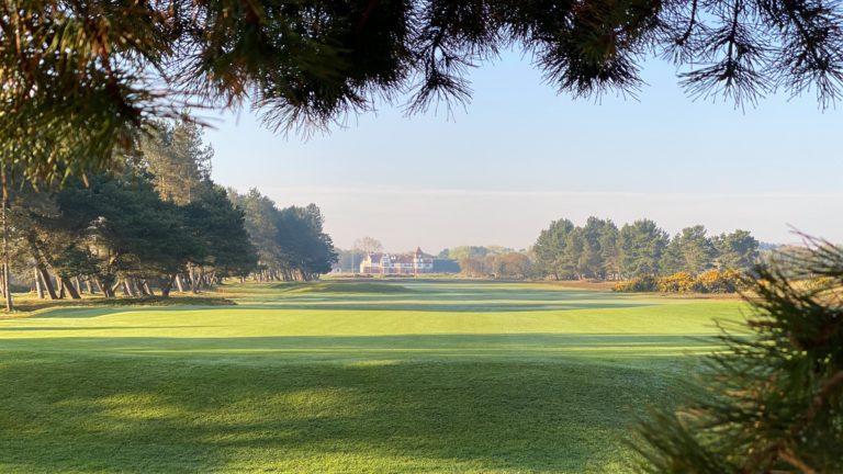 Formby Golf Club trou 18 Club-House