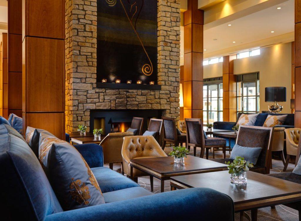 Hôtel Druids Glen Resort hôtel 5 étoiles salon sejour golf irlande