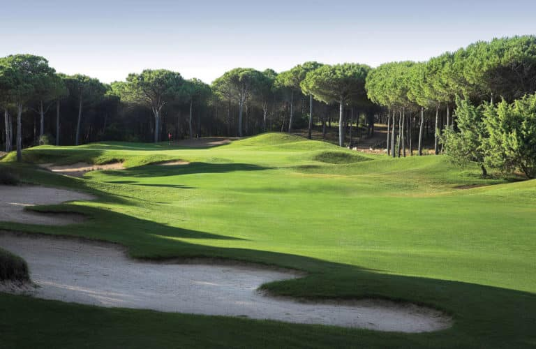 Is Arenas Golf & Country Club 18 trous italie sardaigne