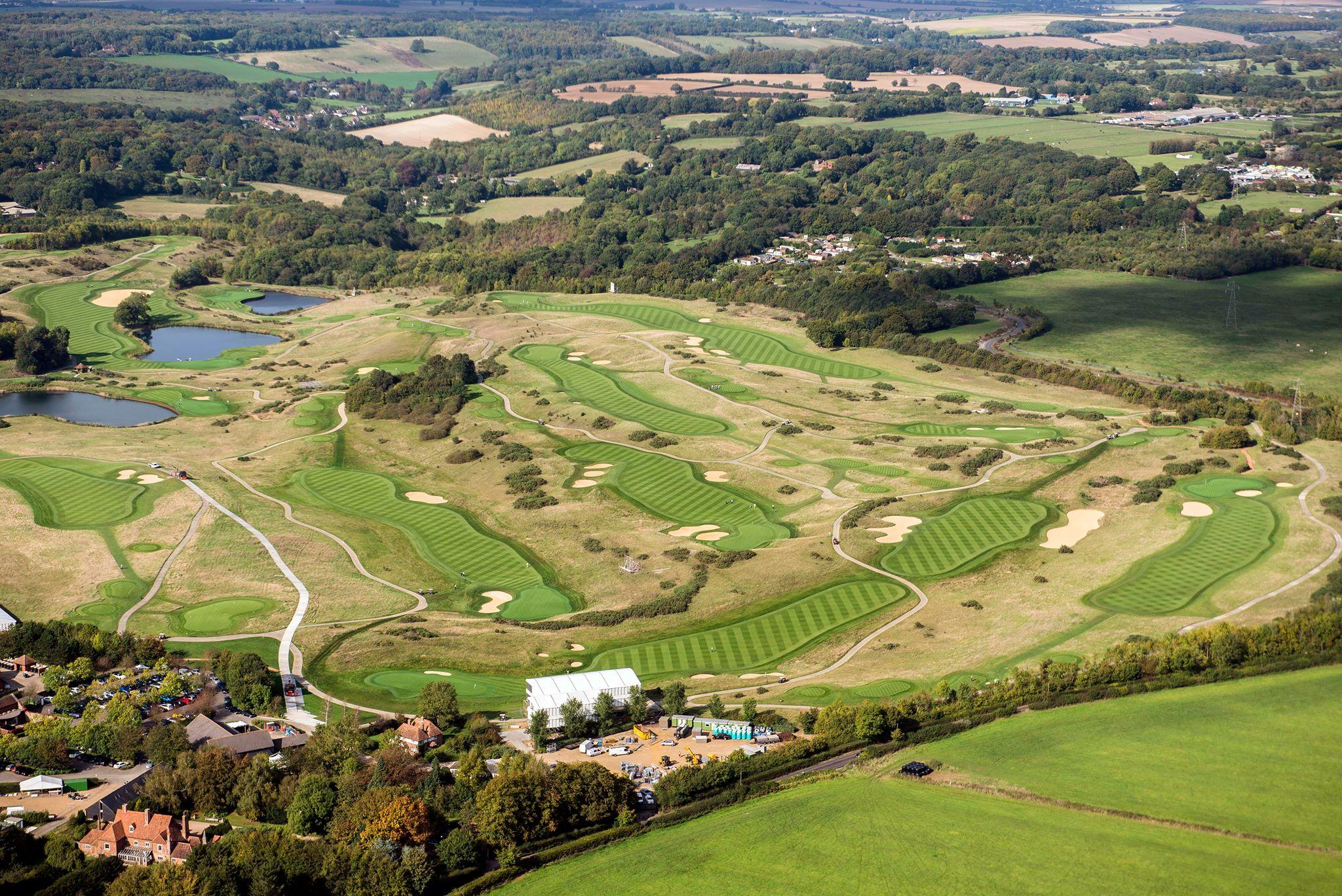London Golf Club - Deux parcours de championnat - Lecoingolf