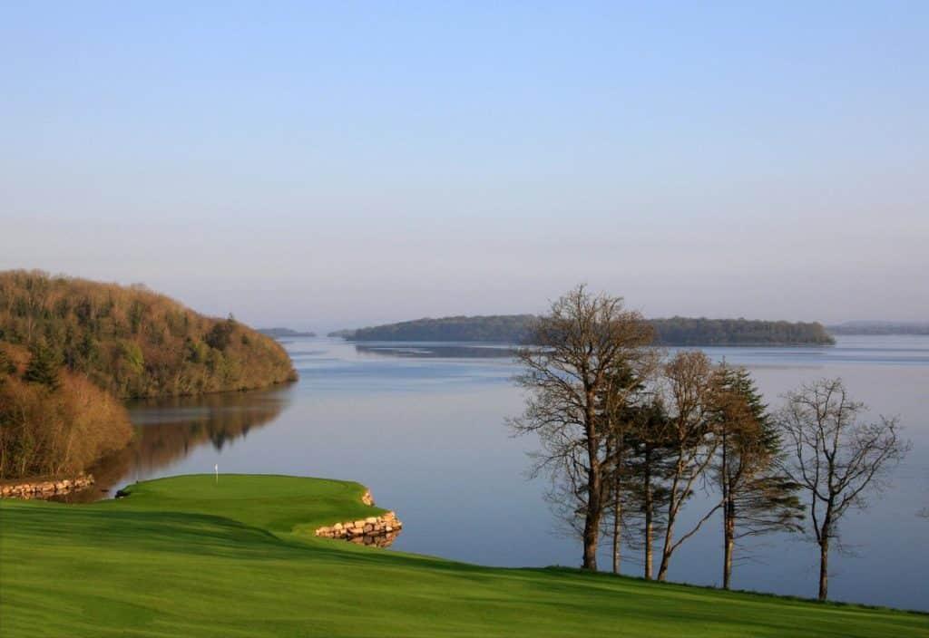 Lough Erne Resort - Faldo Championship Course Par 3 Eau ile