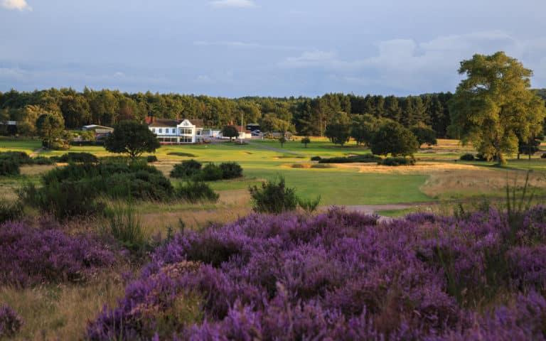 Notts Golf Club – Hollinwell trou 18 Club-House