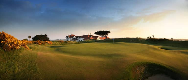 Portmarnock Golf Club Club-House Green du 18