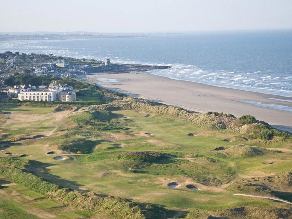 Portmarnock Hotel and Golf Links Irlande vue aerienne