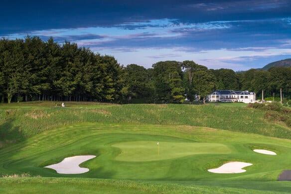 Powerscourt Golf Club parcours de golf irlande