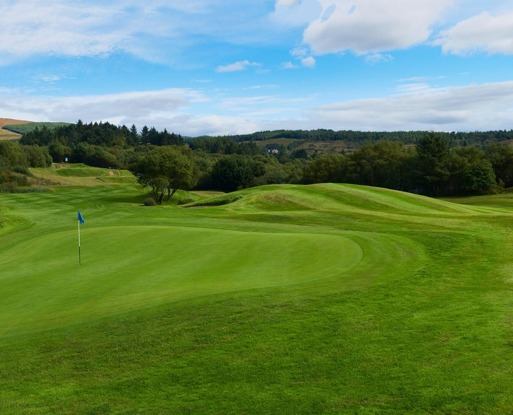 Ring of Kerry Golf and Country Club Green Fairway bunker golfeur