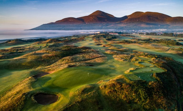 Royal County Down – Championship Links Newcastle, Northern Ireland Vacances golf irlande