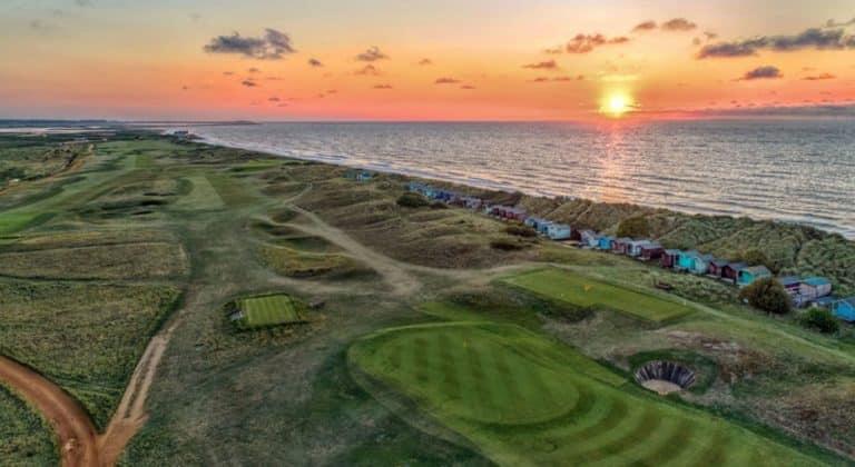 Royal West Norfolk Golf Club Vue aerienne du parcours