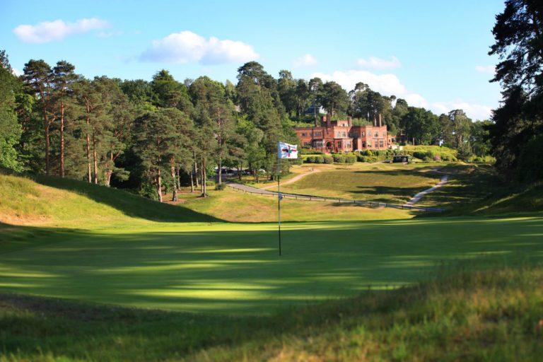 Saint George's Hill Golf Club Angleterre parcours de golf