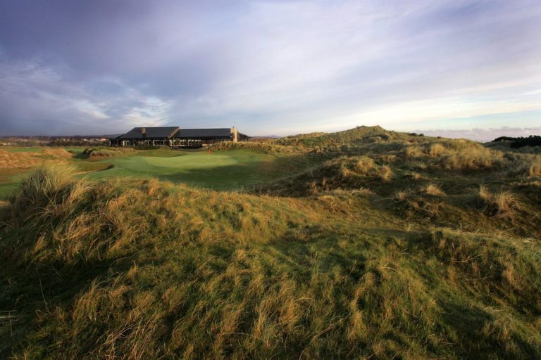 Seapoint Golf Links Green du 18 Club-House