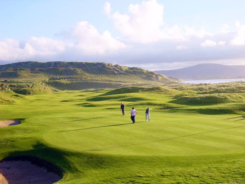Strandhill Golf Club Golfeurs Jouer golf