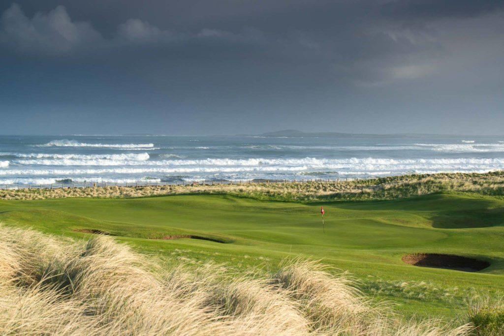Strandhill Golf Club Parcours de golf irlande Links Ocean