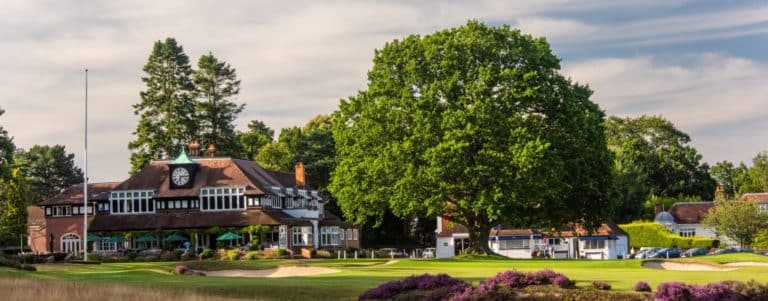 Sunningdale Golf Club Londres Angleterre parcours de golf