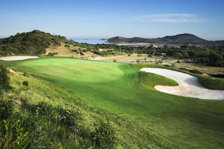 Tanka Golf Club Villasimius, Italie Jouer golf Sardaigne