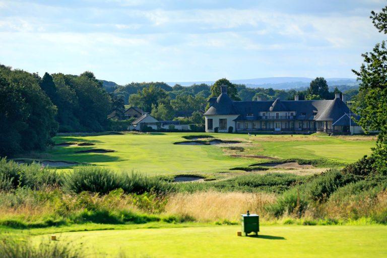 The Alwoodley Golf Club trou 18 Club-House