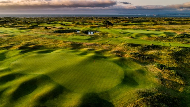 The Royal Dublin Golf Club trou 10