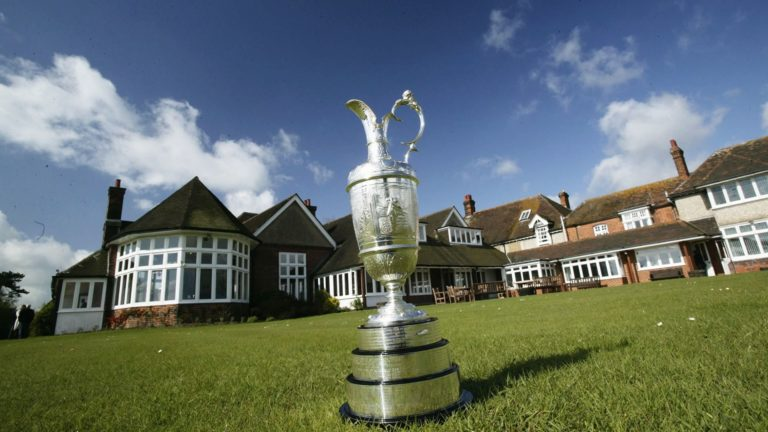 The Royal St George's Golf Club Club-house coupe british open