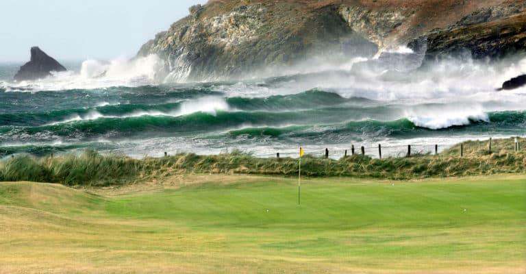 Trevose Golf Club Parcours de golf bord de maer Angleterre