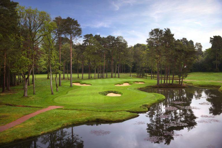 Woking Golf Club top golf England