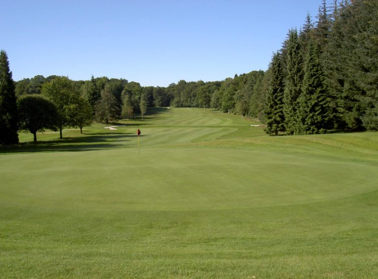 Downfield Golf Club Fairway green Ecosse