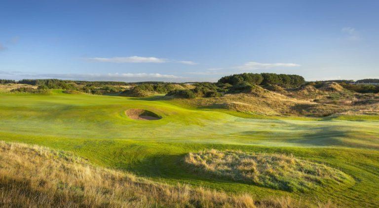 Dundonald Links Parcours de golf ecosse 18 trous