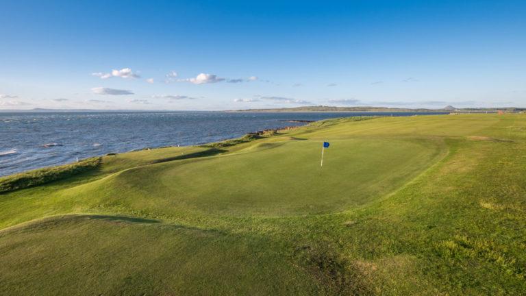 Kilspindie Golf Club Trou 3 bord de mer