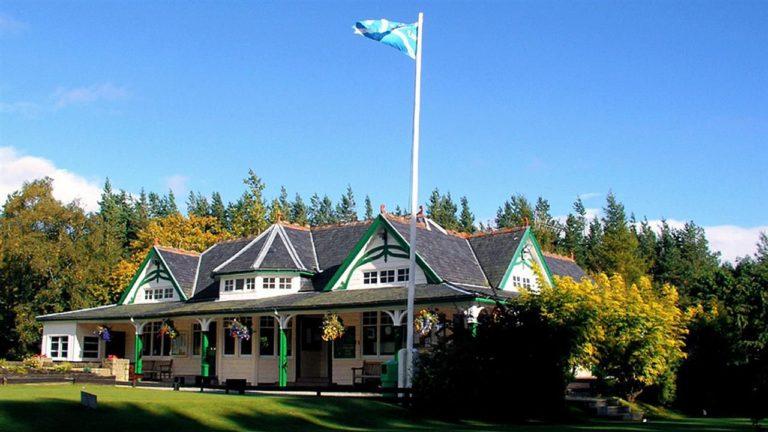Kingussie Golf Club Clubhouse
