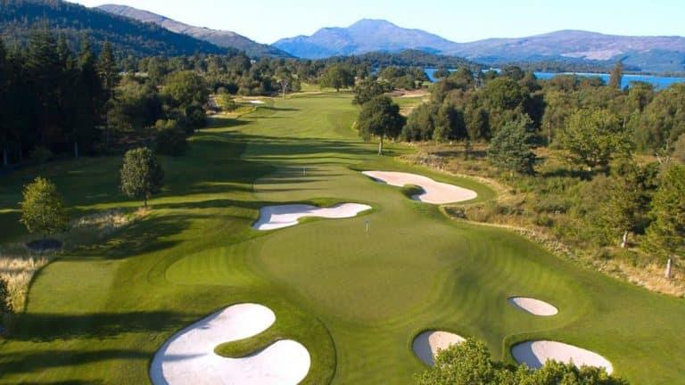 Loch Lomond Golf Club Jouer golf ecosse
