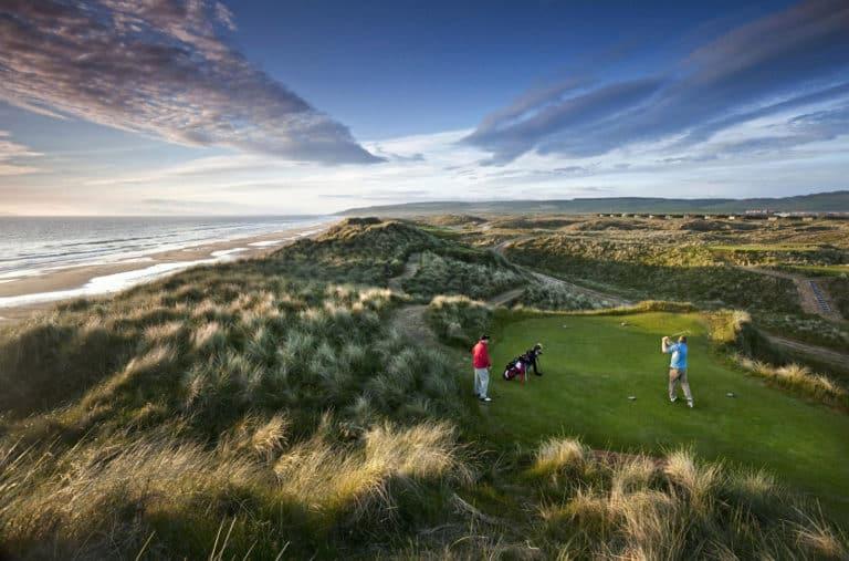 Machrihanish Dunes Golf Club Golfeurs voyage golf Ecosse Grande bretagne