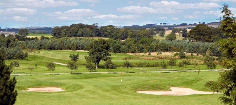 Newmachar Golf Club Parcours de golf plaine campagne Ecosse