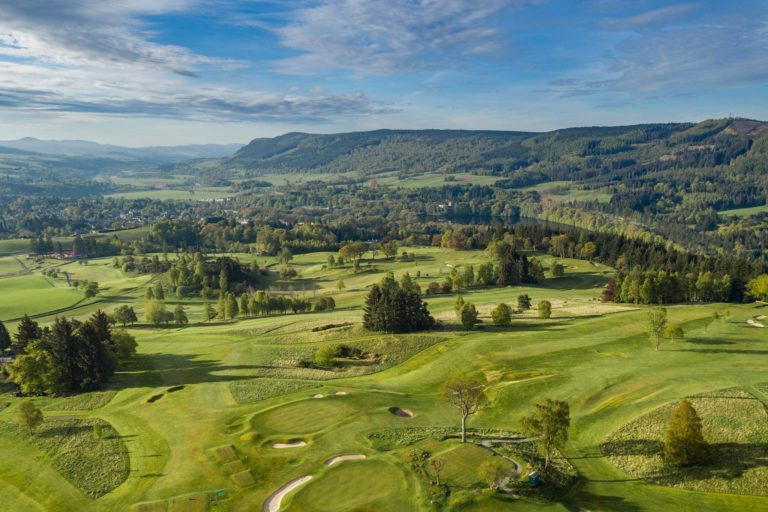 Pitlochry Golf Club Campagne Ecosse Paysage
