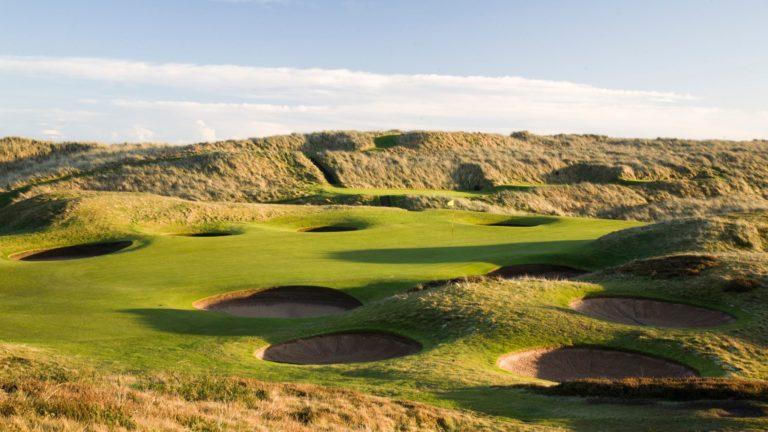 Royal Aberdeen Golf Club Trou 8 Guide des golf Ecosse Lecoingolf