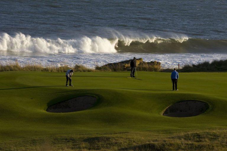 Royal Dornoch Golf Club golf en bord de mer