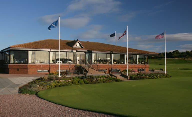 The Nairn Golf Club Clubhouse