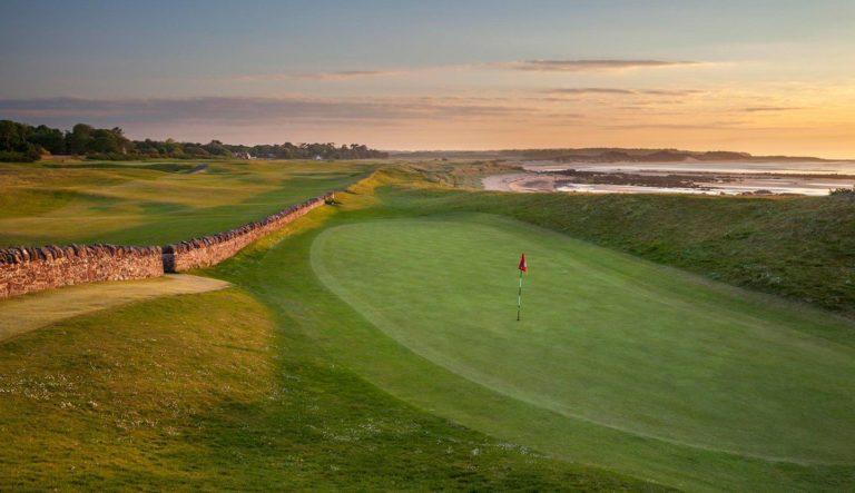 The North Berwick Golf Club Parcours de golf Ecosse Links mer
